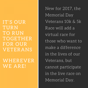 Virtual Memorial Day Race