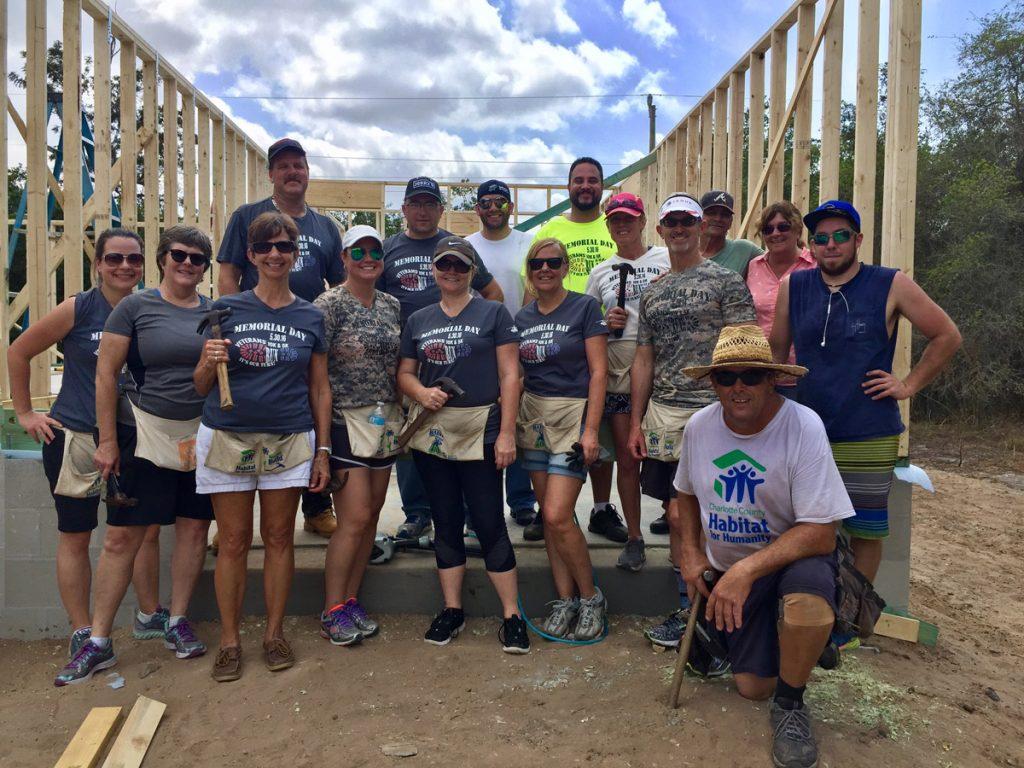 Habitat for Humanity Veteran Build - April 1, 2017