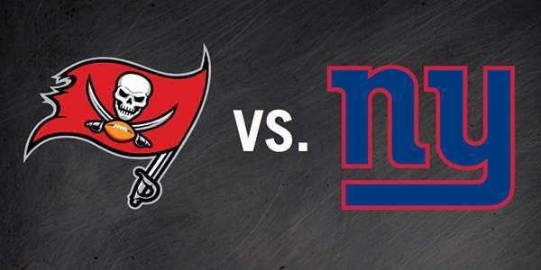 Bucs vs. Giants